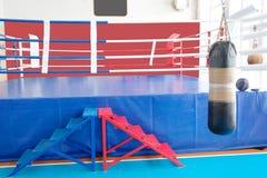 Boxing hall Stock Image