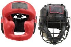 Boxing helmet Royalty Free Stock Image