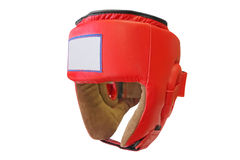 Boxing helmet Royalty Free Stock Photography
