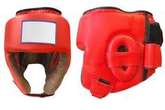 Boxing helmet Stock Photography