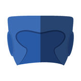 Boxing helmet isolated icon Stock Images