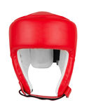 Boxing helmet isolated Stock Images