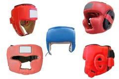 Boxing helmet Stock Image
