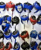 Boxing Helmets Royalty Free Stock Photography