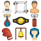 Boxing Icon - Sport Stock Photos