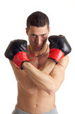 Boxing man Stock Photography
