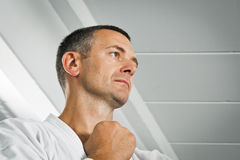 Boxing man Stock Images