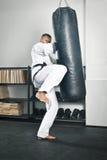 Boxing man Royalty Free Stock Photo
