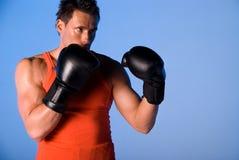 Boxing man. Stock Photo