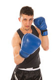 Boxing man Stock Image