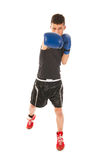 Boxing man Royalty Free Stock Photos