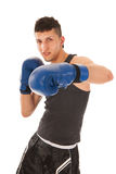 Boxing man Stock Photo