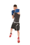 Boxing man Royalty Free Stock Photo