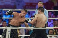 Boxing match Stock Image