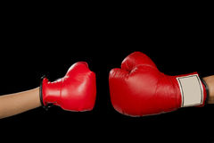 Boxing Match. Royalty Free Stock Photos