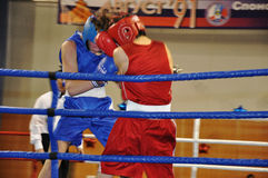 Boxing for men. XVII all-boxing tournament grade b championships on Northern Territory administration prizes, Orenburg Stock Photos