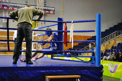 Boxing for men. XVII all-boxing tournament grade b championships on Northern Territory administration prizes, Orenburg Stock Images
