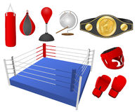 Boxing objects Royalty Free Stock Images