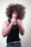 Boxing posture Stock Photos