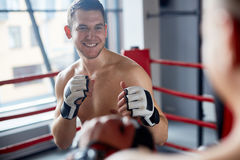 Boxing Practice Stock Images