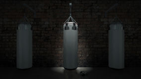 Boxing punch bag Royalty Free Stock Image