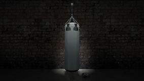 Boxing punch bag Stock Photo