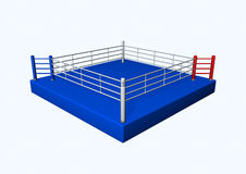 Boxing ring. Illustration with a boxing ring Stock Photography