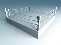 Boxing ring. 3D rendered Illustration. A boxing ring Stock Photo