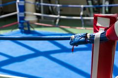 Boxing ring Royalty Free Stock Images