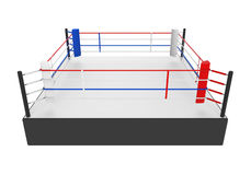 Boxing Ring Isolated Stock Photography