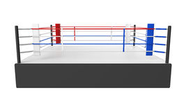Boxing Ring Isolated Royalty Free Stock Image