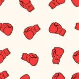 Boxing seamless gloves Royalty Free Stock Photos