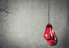 Boxing sport concept Royalty Free Stock Photography