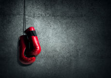 Boxing sport concept Royalty Free Stock Image