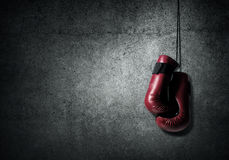Boxing sport concept Stock Images