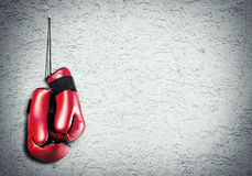 Boxing sport concept Royalty Free Stock Photo