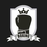 Boxing sport Stock Image
