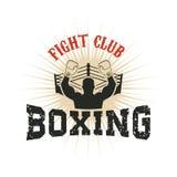 boxing Strijdclub royalty-vrije illustratie