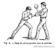 Boxing: Strike and Parry (2) Stock Photos