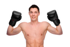 Boxing time Stock Images