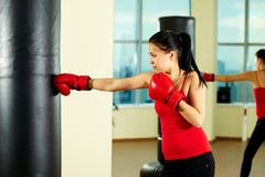 Boxing training Royalty Free Stock Photo