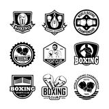 Boxing Vector Icons 6 Royalty Free Stock Photos