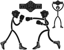 Boxing. Vector illustration (EPS 10 Royalty Free Stock Images