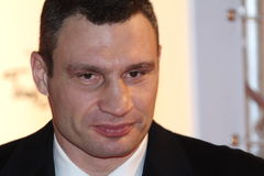 Boxing Vitali Klitschko Royalty Free Stock Images