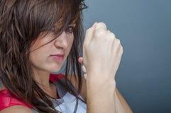 Boxing Woman Stock Photos