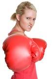 Boxing Woman Royalty Free Stock Image