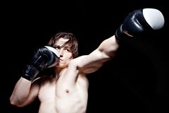 Boxing workout Royalty Free Stock Photo