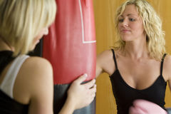 Boxing Workout Too Stock Image
