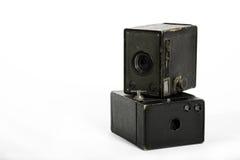Boxkameras Stockbild