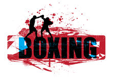 boxning Royaltyfri Fotografi